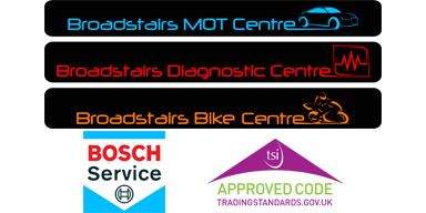 Broadstairs MOT Centre Logo