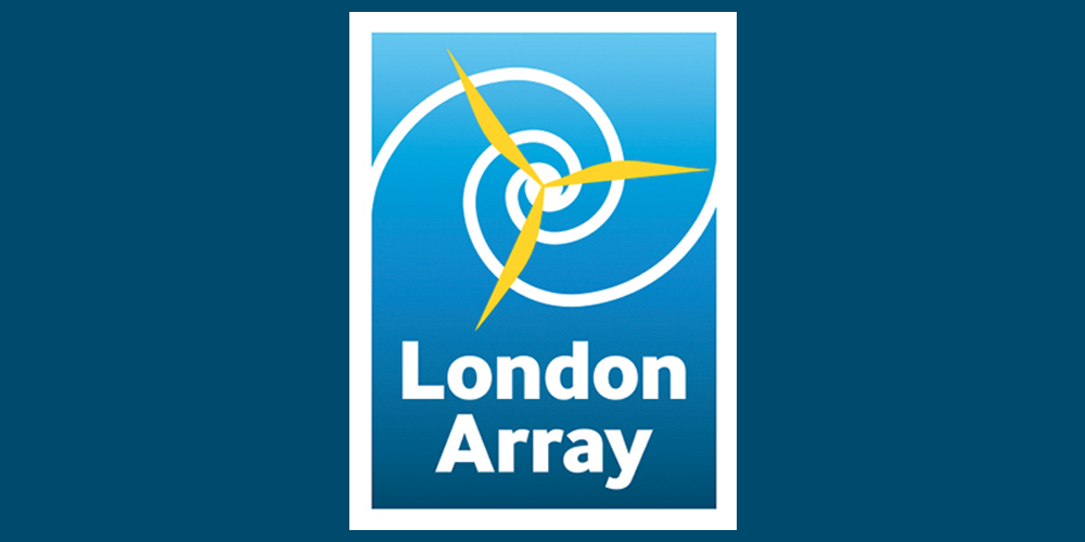 Image of the London Array - Main Sponsor logo