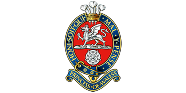 Princess of Wales Royal Regiment Logo
