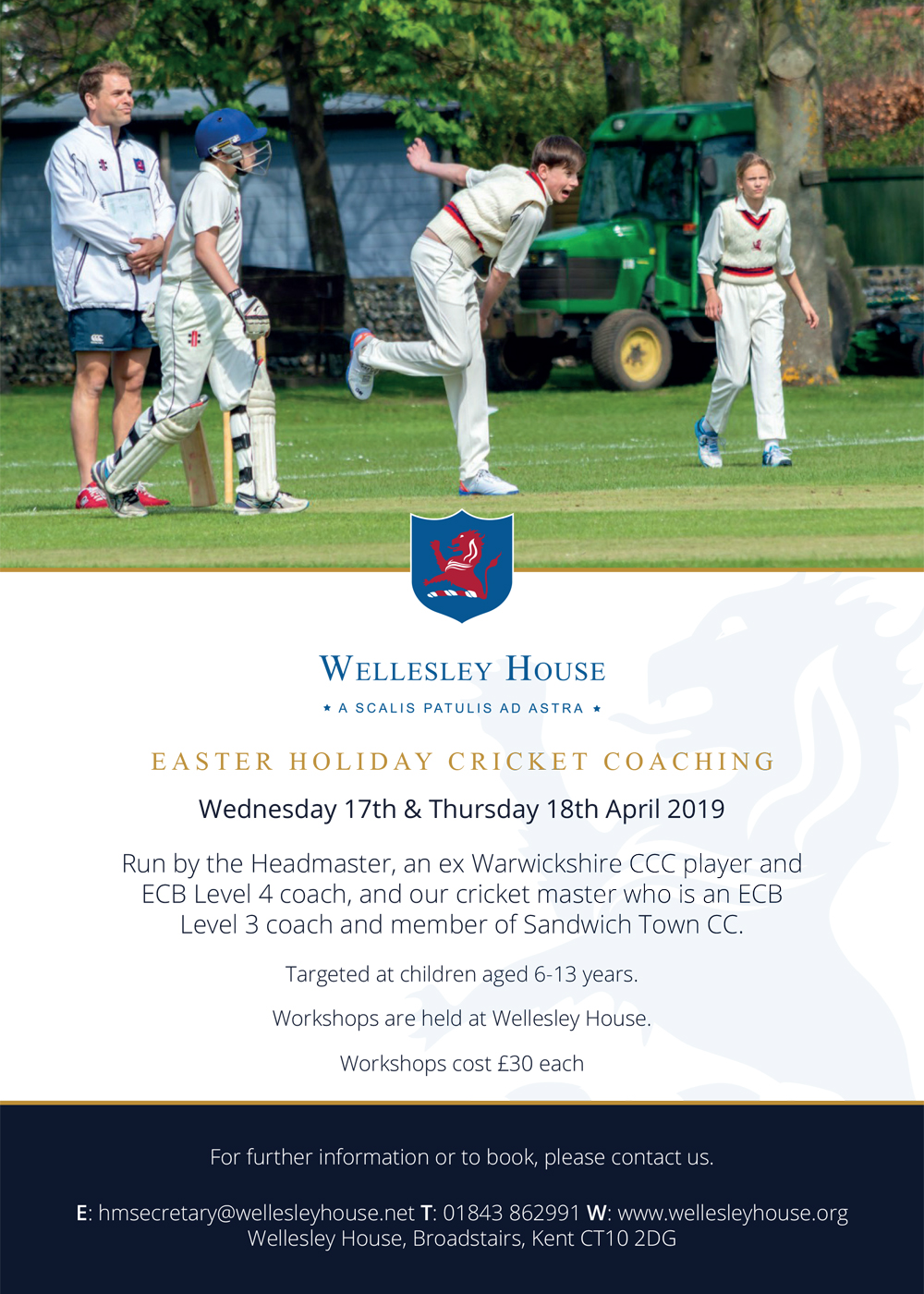 Easter Holiday Cricket Coaching