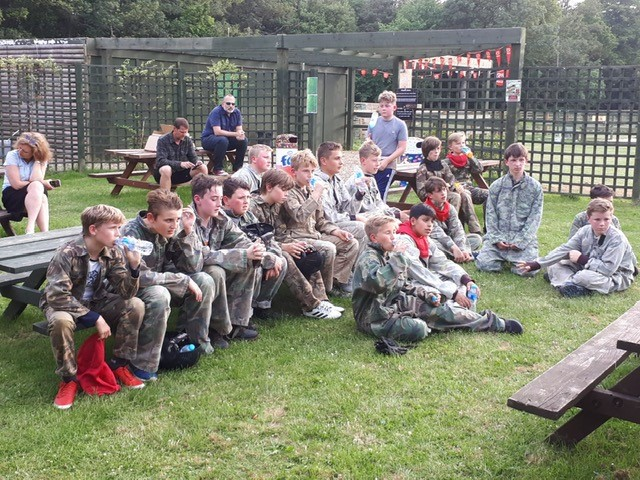 End of season presentation and paintballing Gallery Image - Thanet Wanderers RUFC