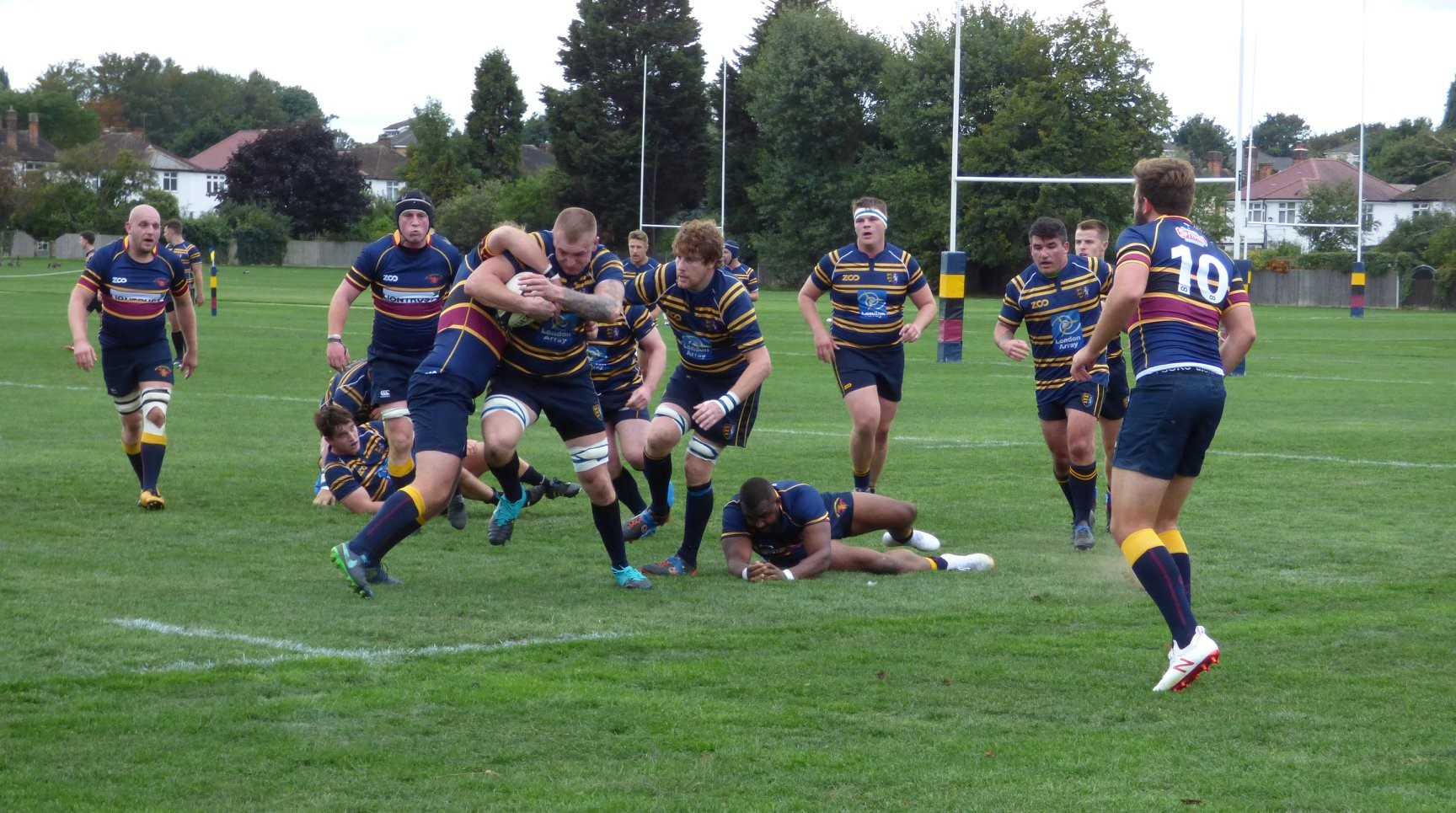 Wanderers 1st XV at Colfeians 8.9.18 Gallery Image - Thanet Wanderers RUFC