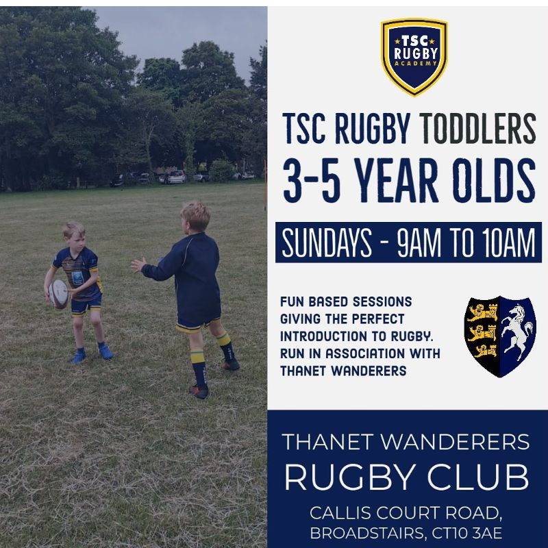 TSC Rugby Toddlers for 3-5 year olds