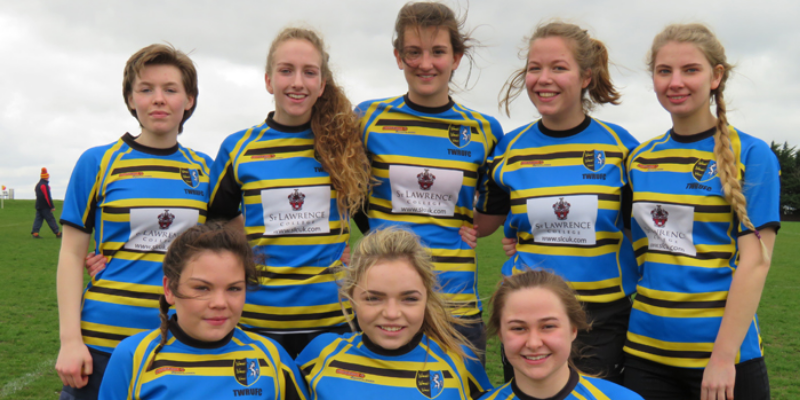 Image of the U15s Girls